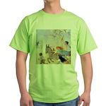 Chasing Fairies Green T-Shirt