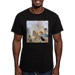 Chasing Fairies Men's Fitted T-Shirt (dark)