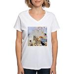 Chasing Fairies Women's V-Neck T-Shirt