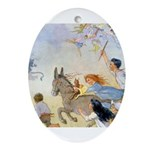 Chasing Fairies Ornament (Oval)