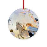 Chasing Fairies Ornament (Round)