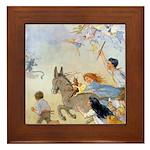 Chasing Fairies Framed Tile