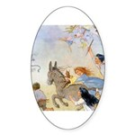 Chasing Fairies Sticker (Oval 50 pk)