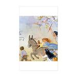 Chasing Fairies Sticker (Rectangle 50 pk)