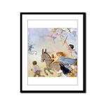 Chasing Fairies Framed Panel Print