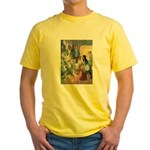 Christmas Tree Fairies Yellow T-Shirt