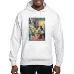 Christmas Tree Fairies Hooded Sweatshirt