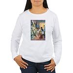 Christmas Tree Fairies Women's Long Sleeve T-Shirt