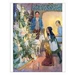 Christmas Tree Fairies Small Poster