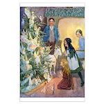 Christmas Tree Fairies Large Poster