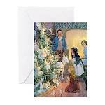 Christmas Tree Fairies Greeting Cards (Pk of 10)
