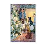 Christmas Tree Fairies Mini Poster Print