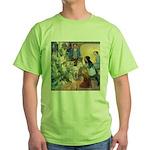 Christmas Tree Fairies Green T-Shirt