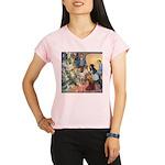 Christmas Tree Fairies Performance Dry T-Shirt