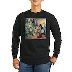 Christmas Tree Fairies Long Sleeve Dark T-Shirt