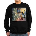 Christmas Tree Fairies Sweatshirt (dark)