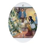 Christmas Tree Fairies Ornament (Oval)