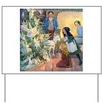 Christmas Tree Fairies Yard Sign
