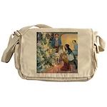 Christmas Tree Fairies Messenger Bag