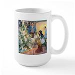 Christmas Tree Fairies Large Mug