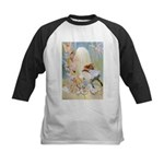 Dancing in the Fairy Fountain Kids Baseball Jersey