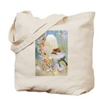 Dancing in the Fairy Fountain Tote Bag