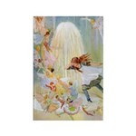 Dancing in the Fairy Fountain Rectangle Magnet