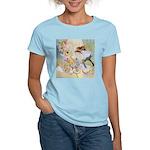 Dancing in the Fairy Fountain Women's Light T-Shir