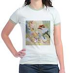 Dancing in the Fairy Fountain Jr. Ringer T-Shirt