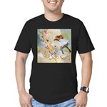 Dancing in the Fairy Fountain Men's Fitted T-Shirt