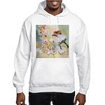 Dancing in the Fairy Fountain Hooded Sweatshirt