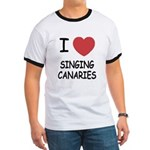 I heart singing canaries Ringer T