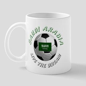 Saudi Arabia world cup Mug