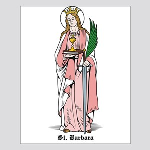 St. Barbara Small Poster