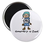 """Occupy Wall Street Democracy 2.25"""" Magnet (10"""