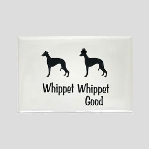 Whippet Good Rectangle Magnet