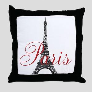 Paris Always Throw Pillow