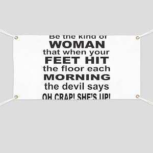 Oh Crap Devil Banner