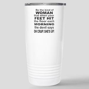 Oh Crap Devil Stainless Steel Travel Mug