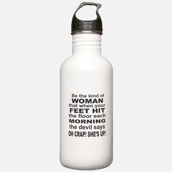 Oh Crap Devil Water Bottle