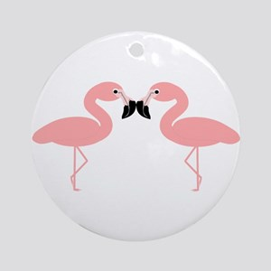 Flamingos Ornament (Round)