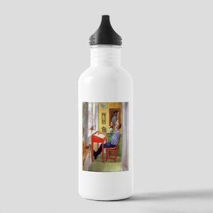 Esbjorn Larsson Homework Stainless Water Bottle 1.