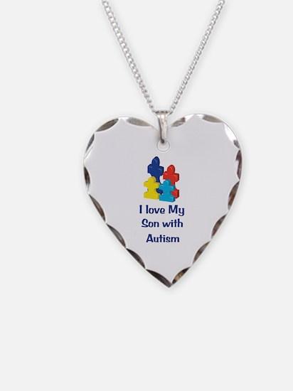 Love Autism Son Necklace