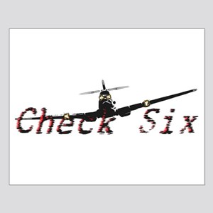 Check Six Small Poster