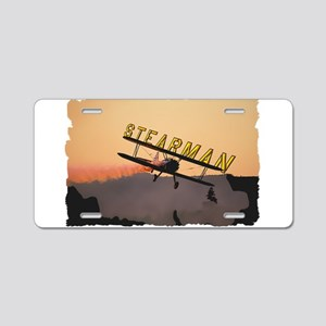 Stearman Aluminum License Plate