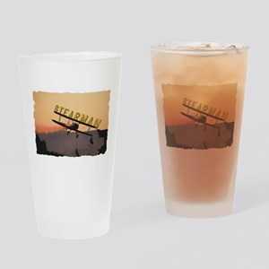 Stearman Drinking Glass
