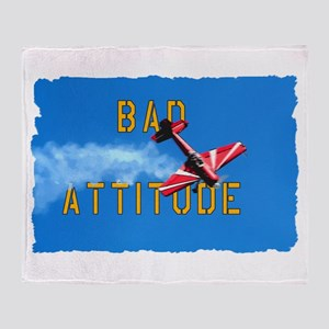 Bad Attitude Throw Blanket