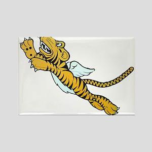 Flying Tiger Rectangle Magnet