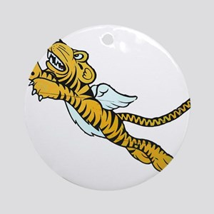Flying Tiger Ornament (Round)