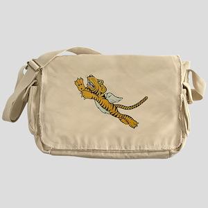 Flying Tiger Messenger Bag